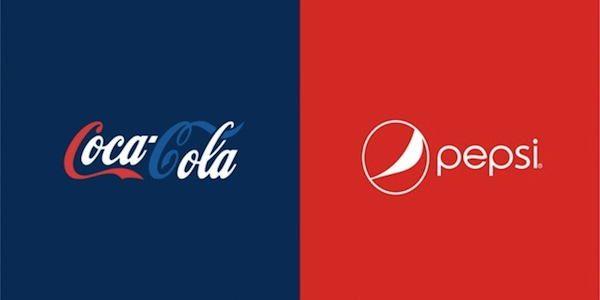 Graphic Designer Swaps The Color Schemes Of Famous Competing Brand ...