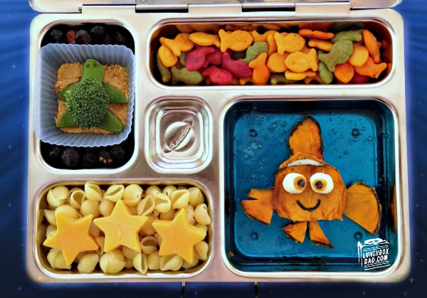 Loving Dad Creates Adorable Lunchbox Meals For His Two Children