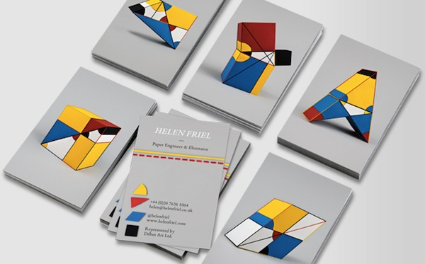 Brilliant Creatives Design Gorgeous Business Cards For Charity ...