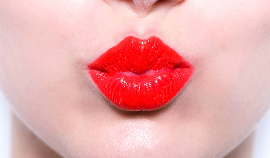 Lips The First Part Of A Fashion Photographers Tactile Digital Art Piece -3483