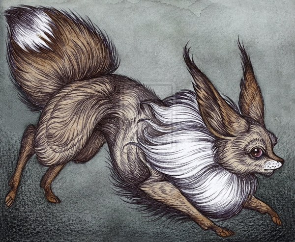 Artist Gives Fantasy Creatures A Dark Twist In Whimsical