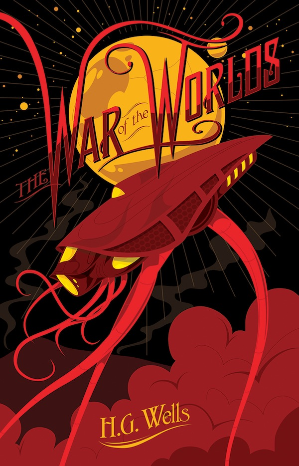 Fantastic Illustrated Covers Of Famous Science Fiction