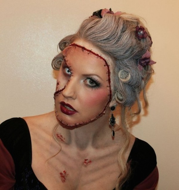 Artist Uses Special Effects Makeup To Create The Most Gruesome ...
