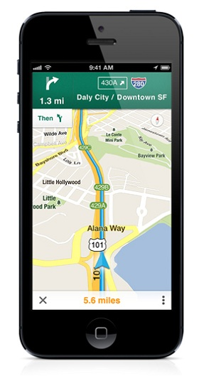 how to get voice directions on iphone 5