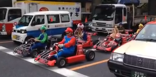 Watch Real Life Mario Kart Street Racing On Japan S Streets