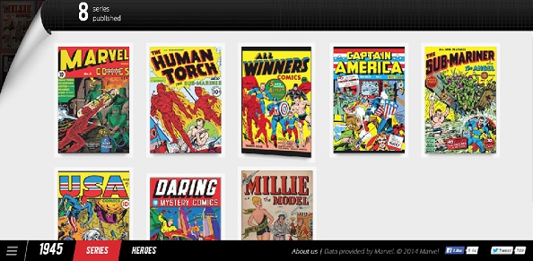 picture of Marvel comics books