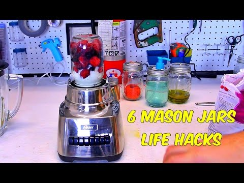 Six Hacks To Give Your Mason Jars A New Lease Of Life Six Hacks To Give Your Mason Jars A New Lease Of Life - DesignTAXI.com - 웹