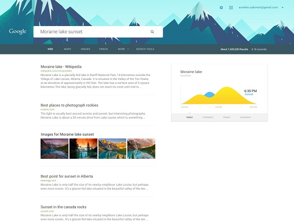 A Material Design Concept Makeover For Google\'s Homepage ...