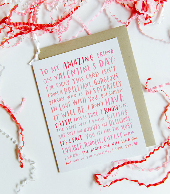 Awkward Typographic Valentine's Day Cards That Will Make You Laugh