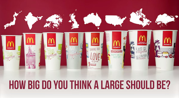 mcdonalds around the world Mcdonald's sells the big mac in 121 different countries and territories find out how much these prices vary across the world.
