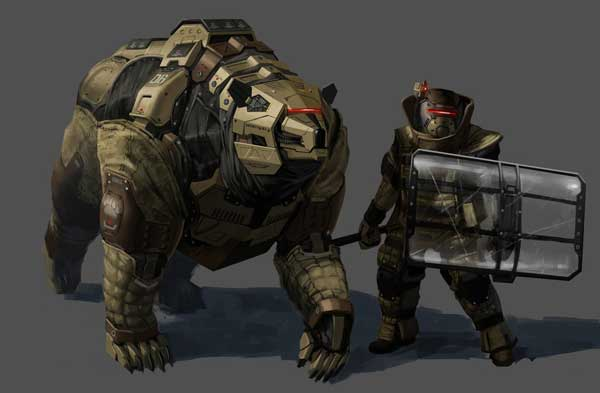 'Mecha Animal' Illustrations That Look Ready For Combat ...