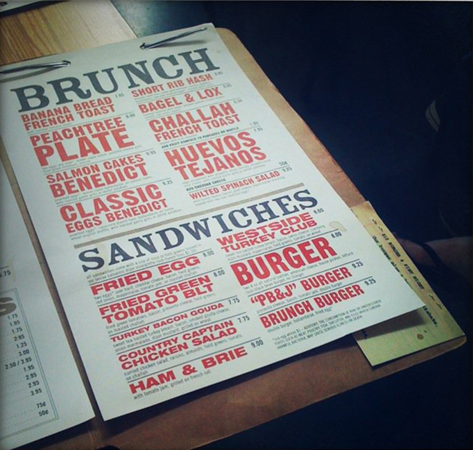 menu designs from around the world