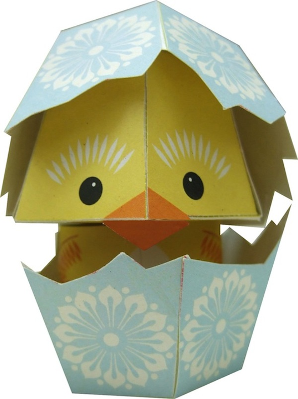 image about Printable Paper Craft identified as Lovable Printable Papercraft Pets, Entertaining And Very simple Toward