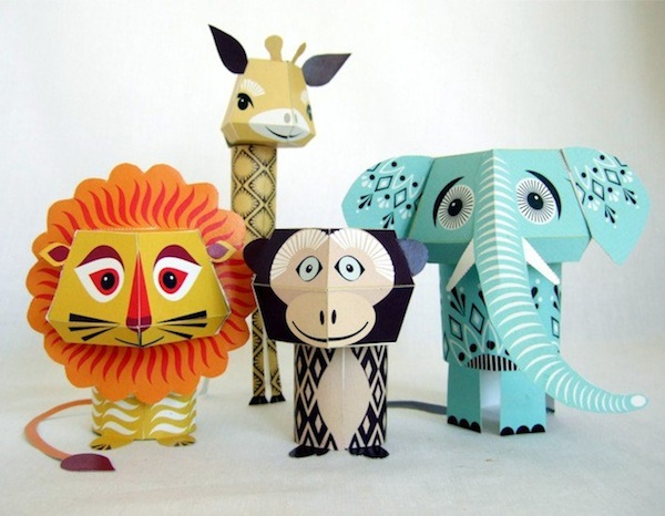 Adorable Printable Papercraft Animals Fun And Easy To Create