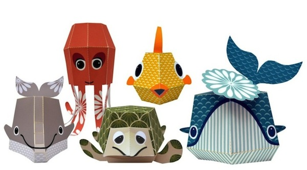 Adorable Printable Papercraft Animals Fun And Easy To