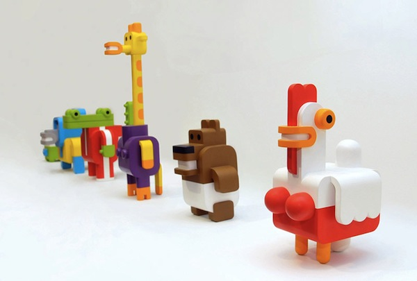 Lego Like Toys : Fun minimalist lego like toy animals that are easily