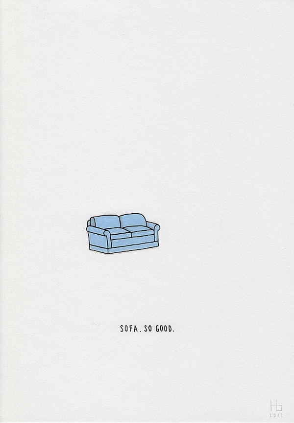 Adorable, Minimalist Illustrations That Would Brighten Your Day