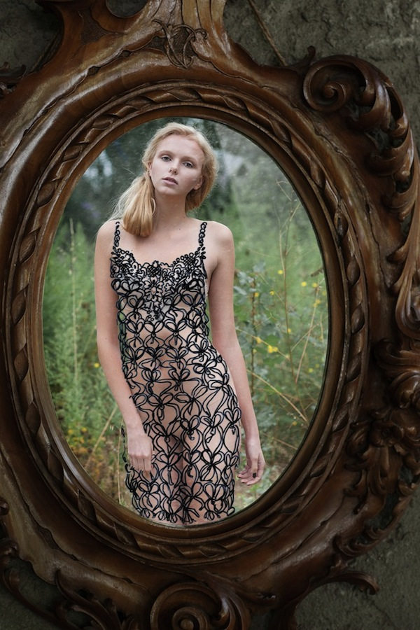 Imaginative Photos Of A Model Wearing Lovely Dresses