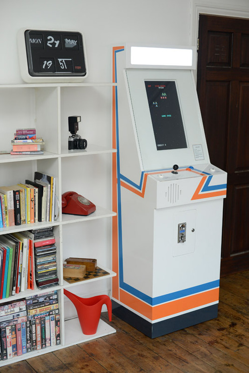 Modern design arcade machine