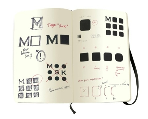 iconic notebook brand moleskine gets a logo update and debuts a