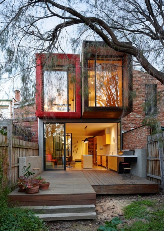 Architect Transforms A Tiny Victorian House Into A