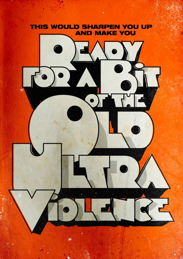 Striking Posters For Classic Movies Mix Typography Quotes