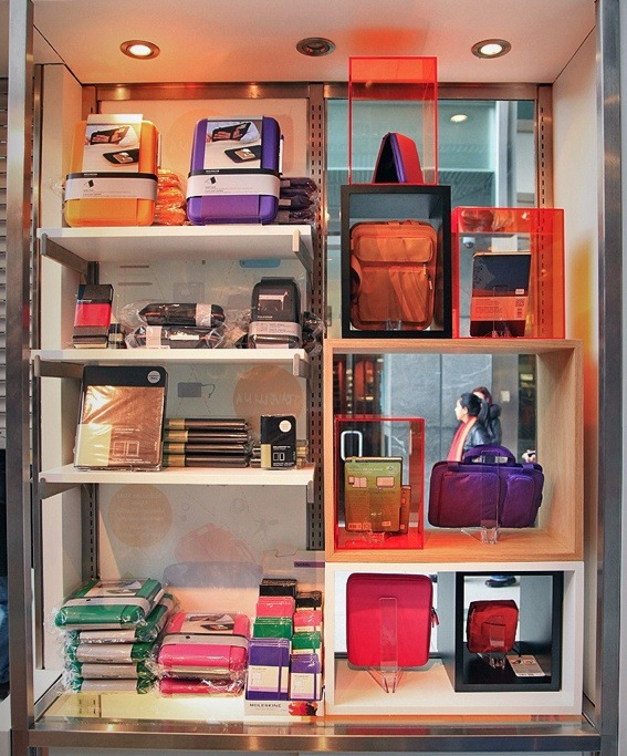 Moleskine Opens First US Store In New York City - DesignTAXI.com