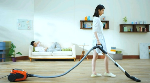 incredibly silent vacuum cleaner that plays music while it sucks