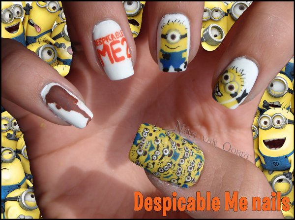 Incredibly Elaborate Nail Art Inspired By Pop Culture Movie