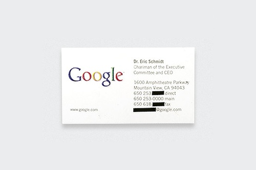 Fascinating business cards of the worlds most famous people you may want to keep every business card you receive from now onbecause you never know which of the names printed on them will become famous in the future reheart Choice Image