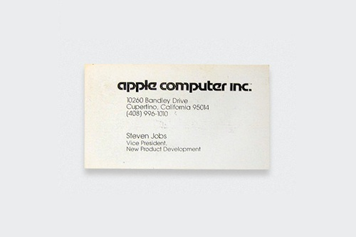 Fascinating Business Cards Of The World S Most Famous