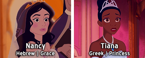 What The Names Of Disney Princesses And Heroines Mean In