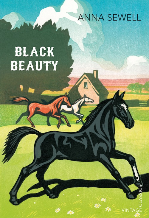 Book Cover Of Black Beauty ~ Vintage books creates striking illustrated covers for