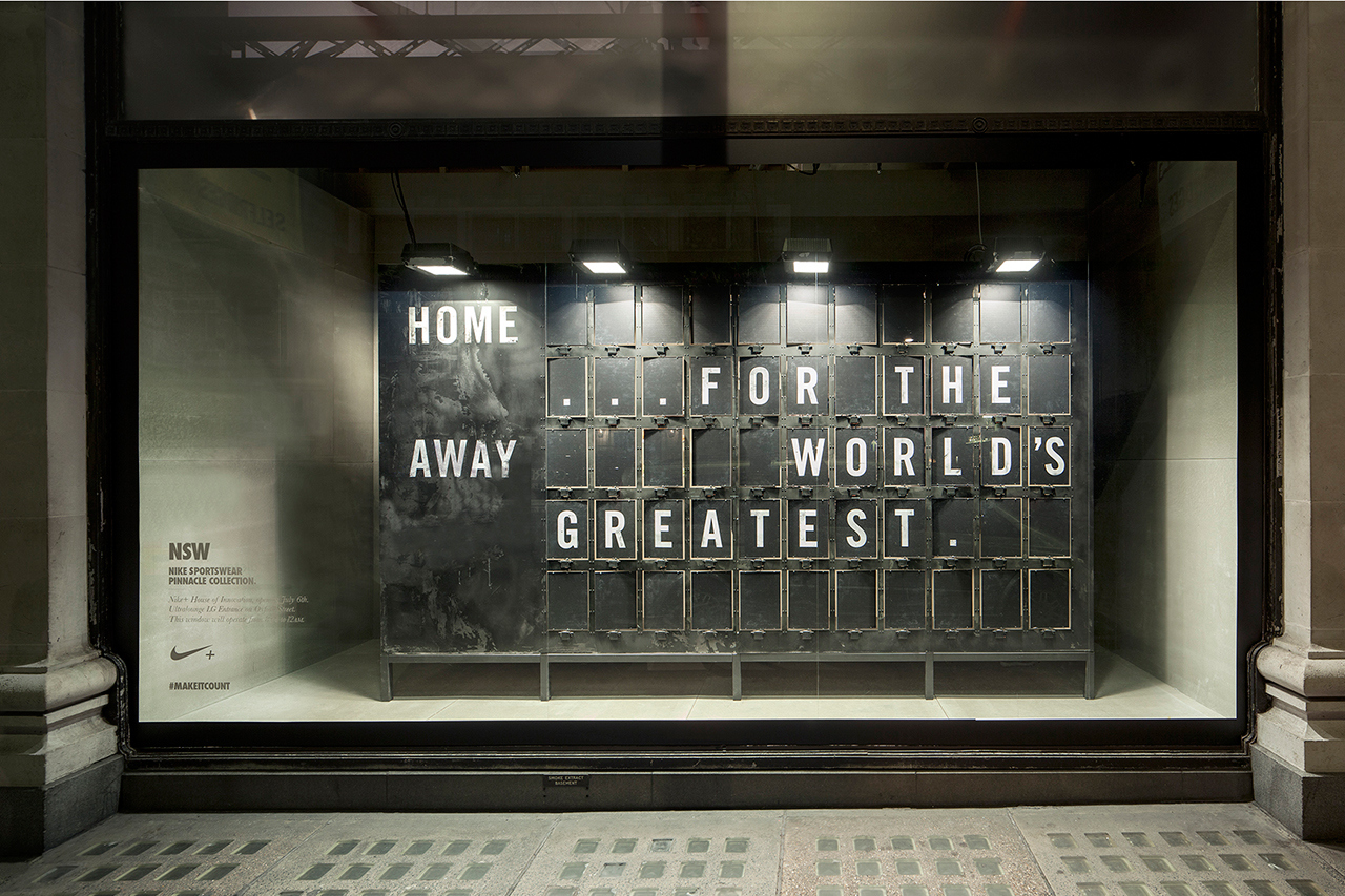 Wonderful Nike Window Displays That Interact With Passers ...
