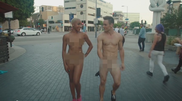 Naked people in reality shows