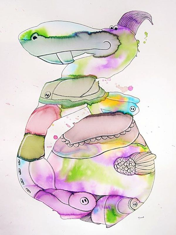 Watercolor Characters By Melissa Ramirez