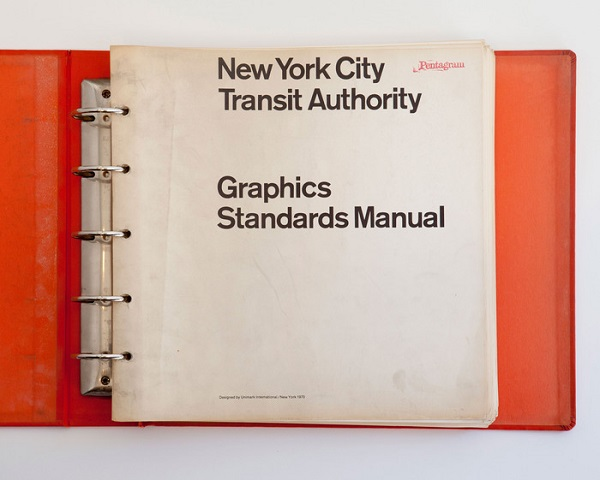 new york transit authority graphics standards manual