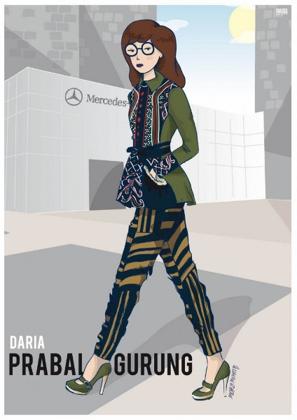 Character Design Nyc : Cartoon characters take on new york fashion week