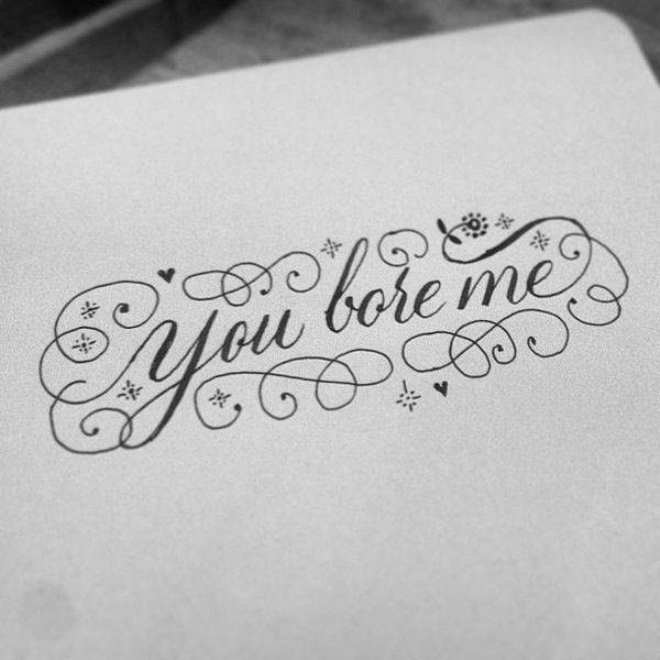 Hilarious Brutally Blunt Calligraphic Messages That Help
