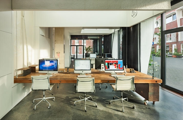 An office that hides itself after work to stop employees for Office design news