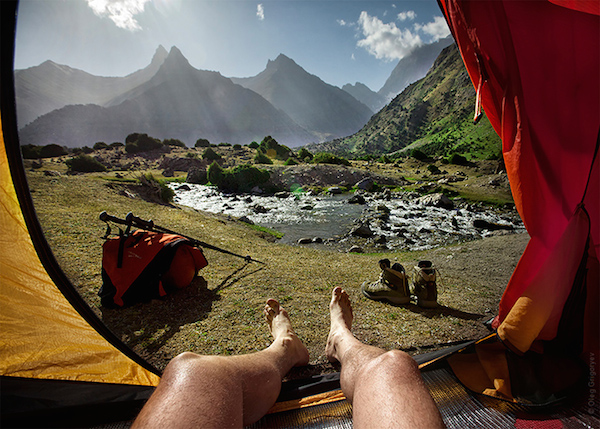 Tent Photography by Oleg Grigoryev