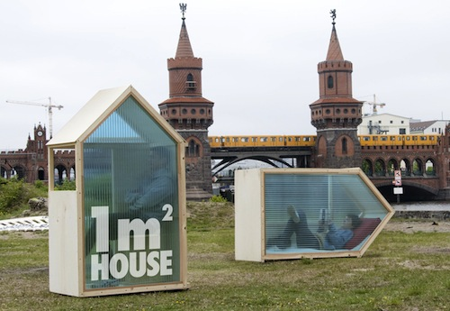Architect creates the one square meter house - Thesquare meter tiny house ...
