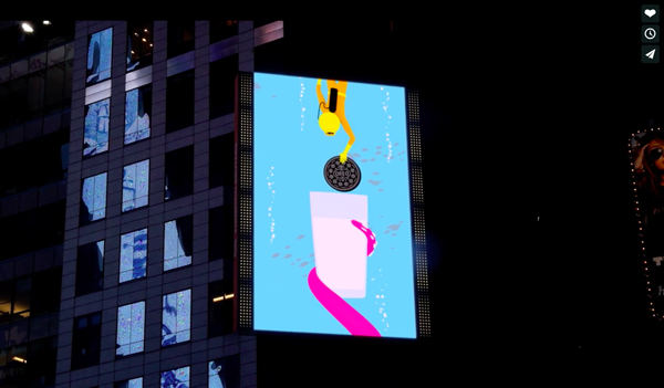 times square transformed into larger-than-life  u2018oreo u2019 adventure land