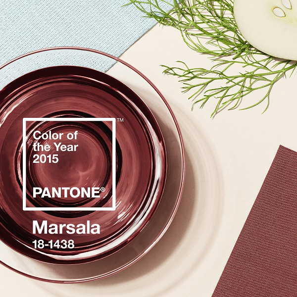 PANTONE Unveils 2015 Color Of The Year: Marsala