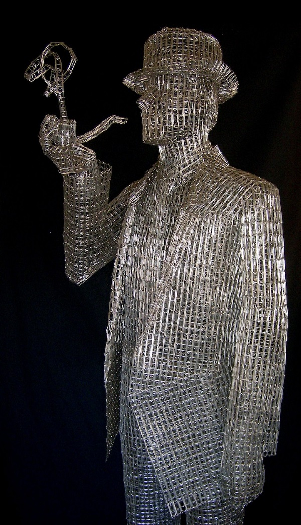 Clip Art Paperclip Art artist creates intricate sculptures using paperclips designtaxi com paperclips