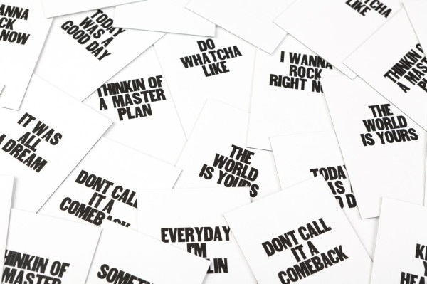 Business Cards Printed With Motivational Phrases Inspired ...