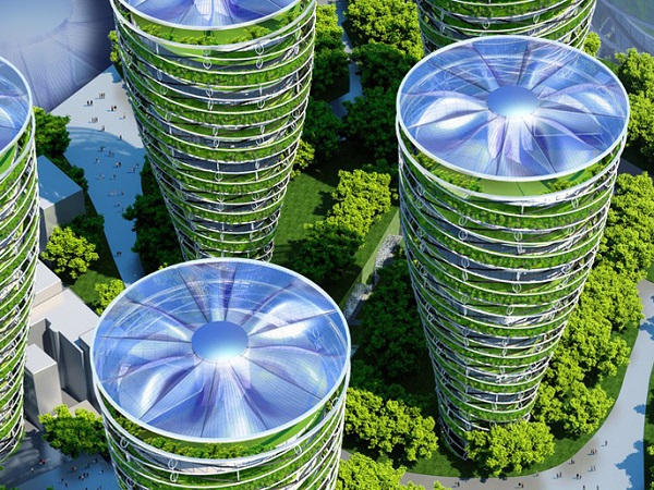This Futuristic Smart City May Be What Paris Would Look Like In 2050