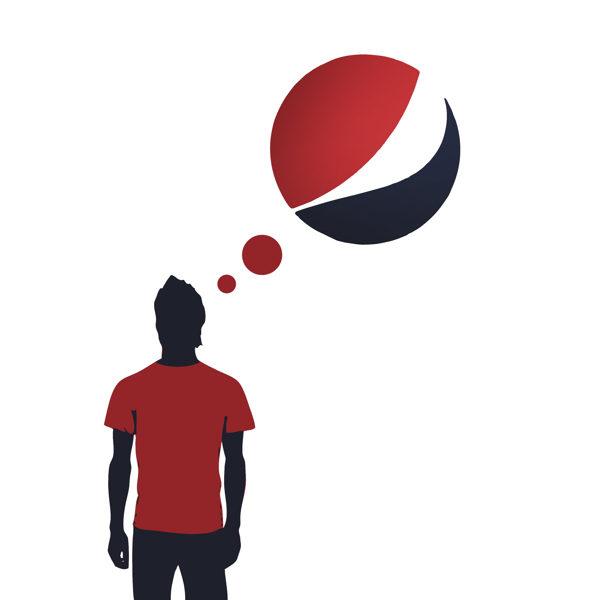 designer makes fun of pepsi  turns its logo into a fat man