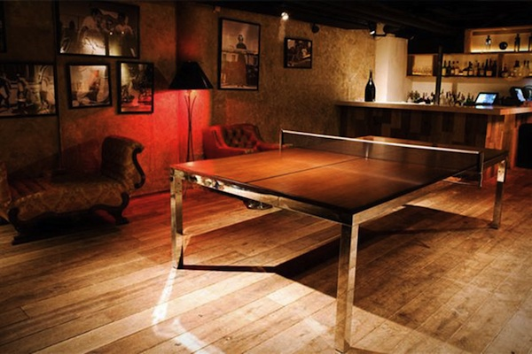 A 2 In 1 Conference Turn Ping Pong Table That Makes Work