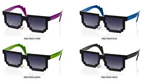 a352589635d Glasses to Make You Look Like An 8-Bit Character – AlexWeber.is